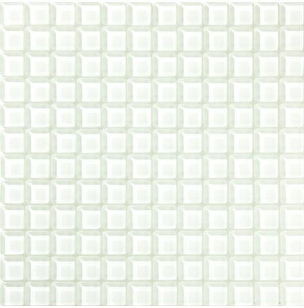 T160 gloss 23x23mm, Ark 0,09m2 Glas blank tjocklek 8mm