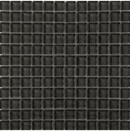 T163 gloss 23x23mm, Ark 0,09m2 Glas blank tjocklek 8mm